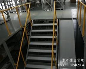 淄博汽车专用阁楼货架
